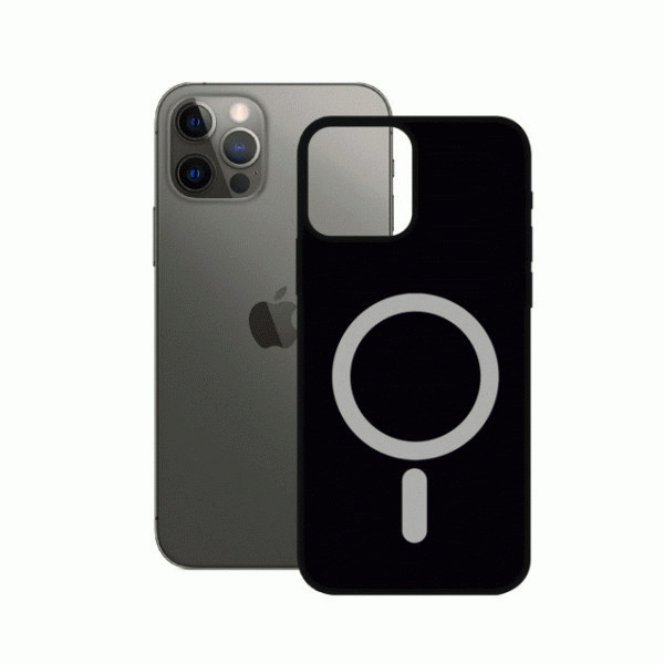 Black Soft Case MagCharge for iPhone 12 Pro Max