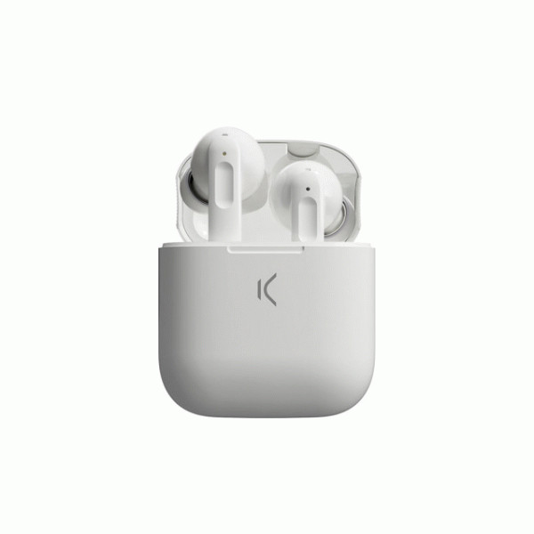 KSIX TRUE WIRELESS ACTIVE NOISE CANCELLING EARPHONES WHITE