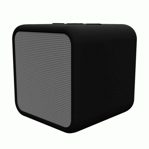 KSIX KUBIC BOX IPX5 WIRELESS SPEAKER WITH MICROPHONE BLACK